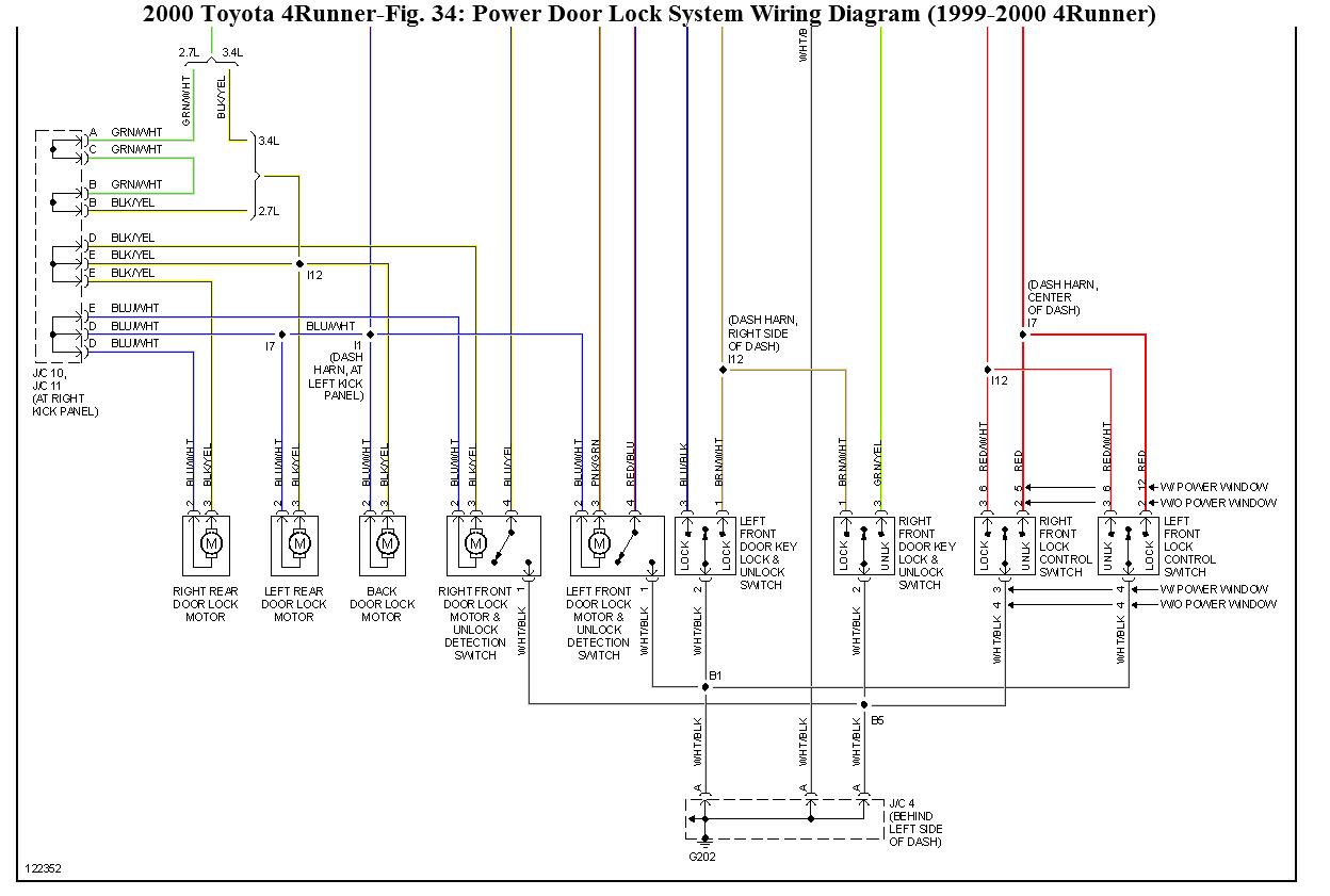 toyota 4runner wiring diagram radio reversible motor about my truck hi i have a 2000 4 runner and