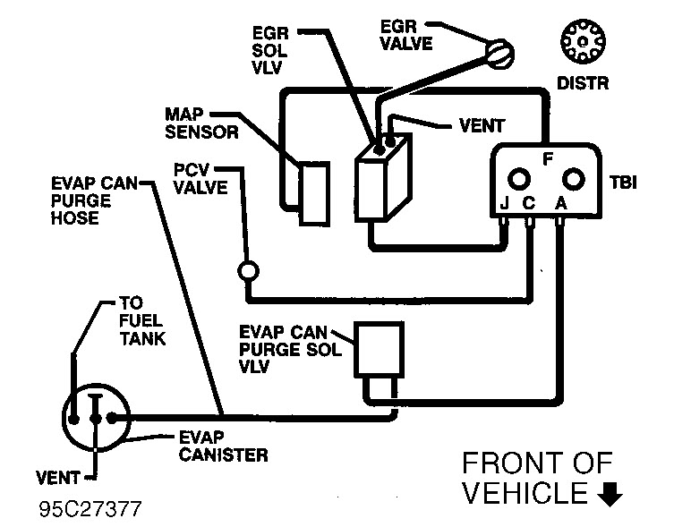 91 chevy 1500 starter diagram