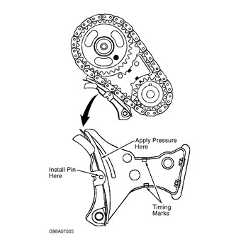 97 Chevy Cavalier: 97 Chevy Cavalier Timing Chain Diagram