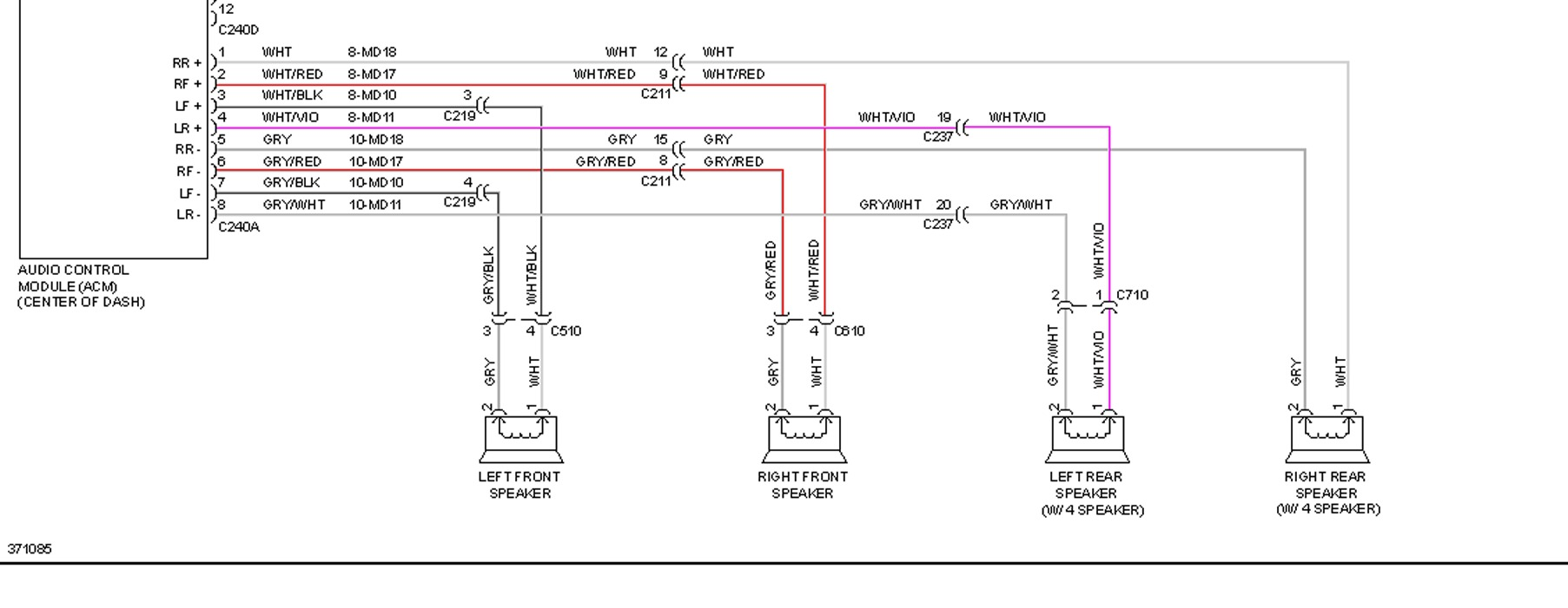 Ford Transit Connect Factory Radio Wiring - Wiring Diagrams ... on