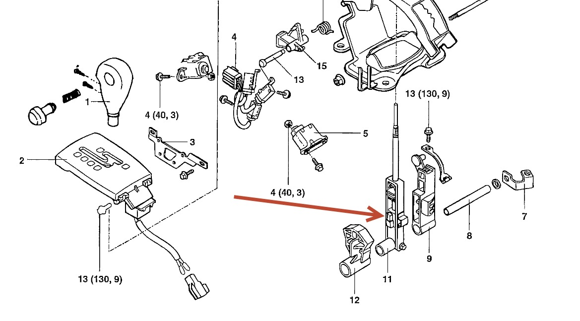 Service manual [How To Install 2004 Hyundai Santa Fe Shift