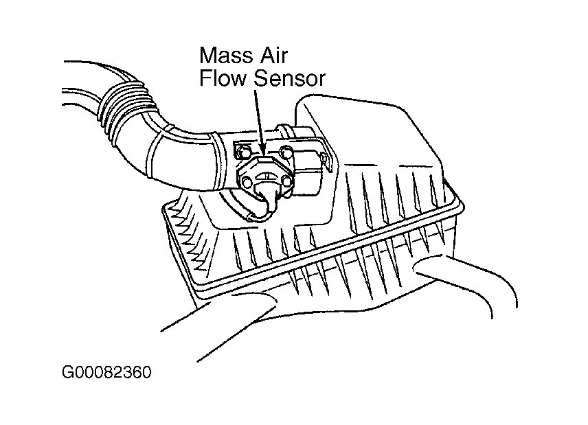 Finding Removing and Cleaning Mass Air Flow Sensor