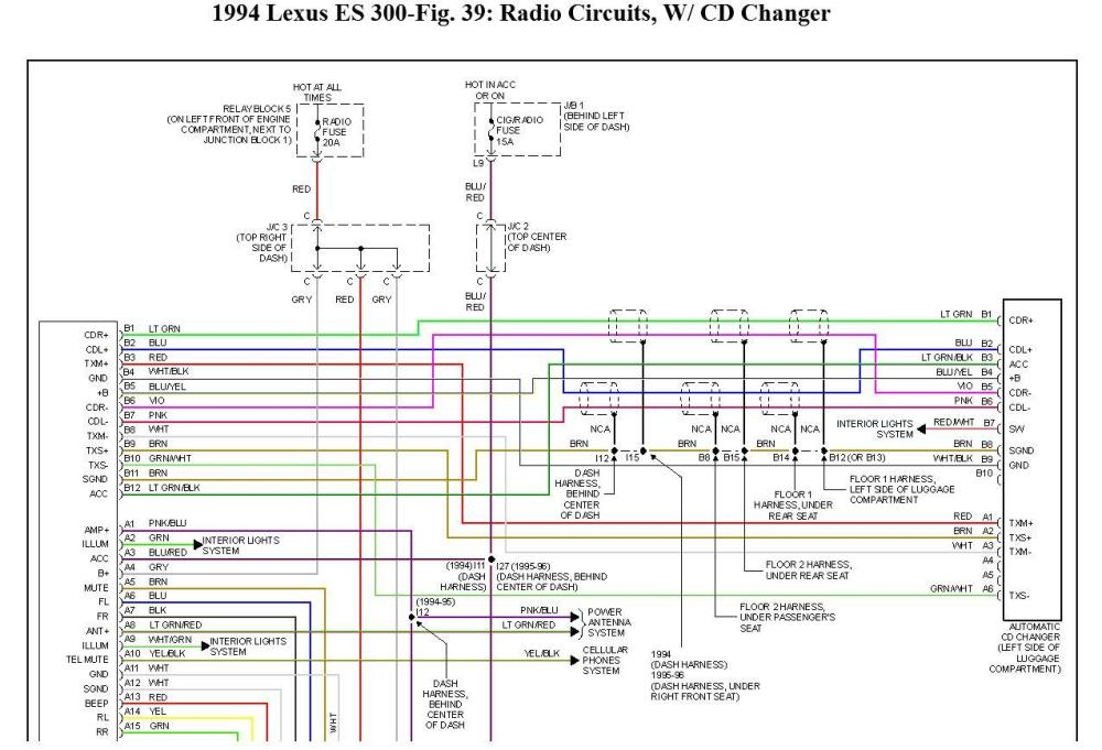 medium resolution of radio wiring i need some schematics or diagram or even color geo storm wiring diagram lexu 2001 lexus rx300