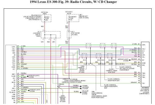 small resolution of radio wiring i need some schematics or diagram or even color geo storm wiring diagram lexu