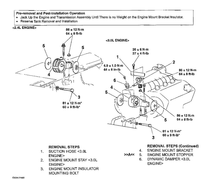hight resolution of 2004 mitsubishi eclipse engine mounts transmission mount specs eclipse motor mount diagram