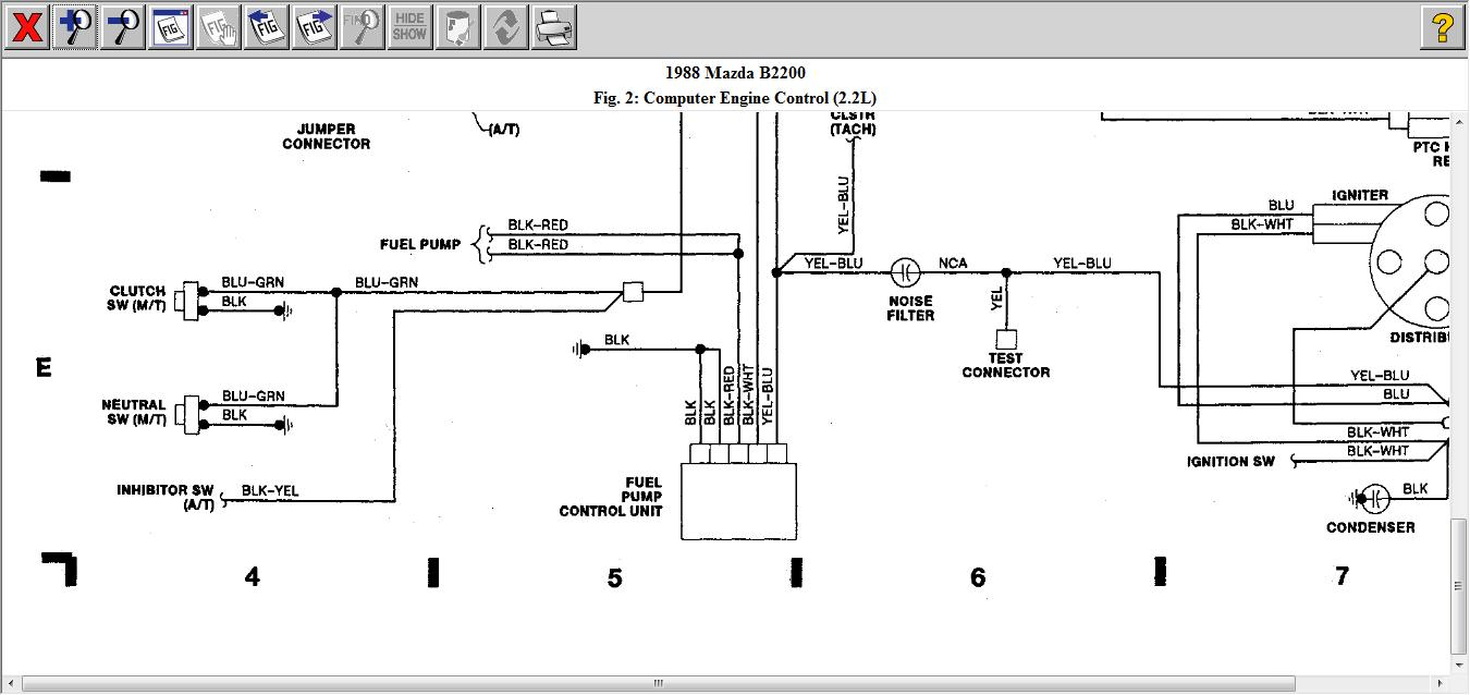 hight resolution of diagram for 1988 mazda b2200 engine