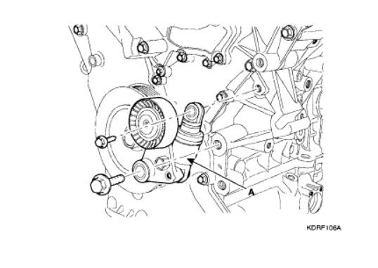 Service manual [2013 Kia Sorento Belt Replacement