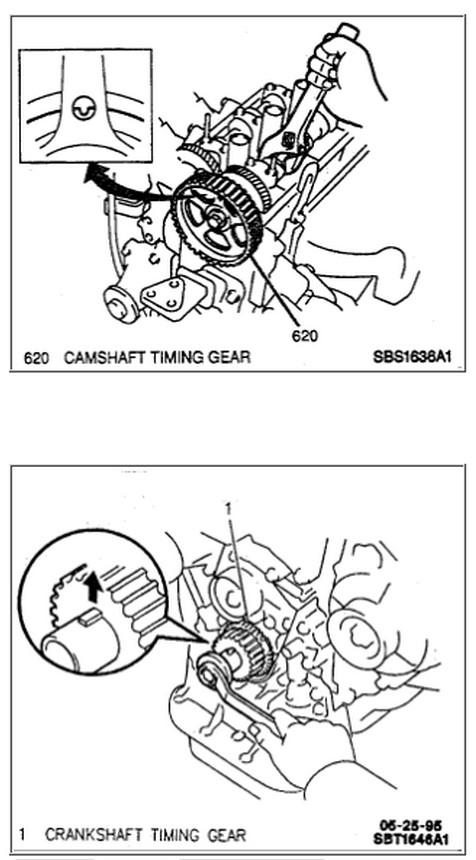1995 Geo Prizn V4 1.8 How to Set the Timing
