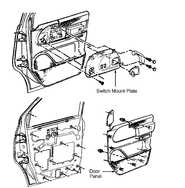 1996 Chevrolet Silverado Drivers Door Unable to Open