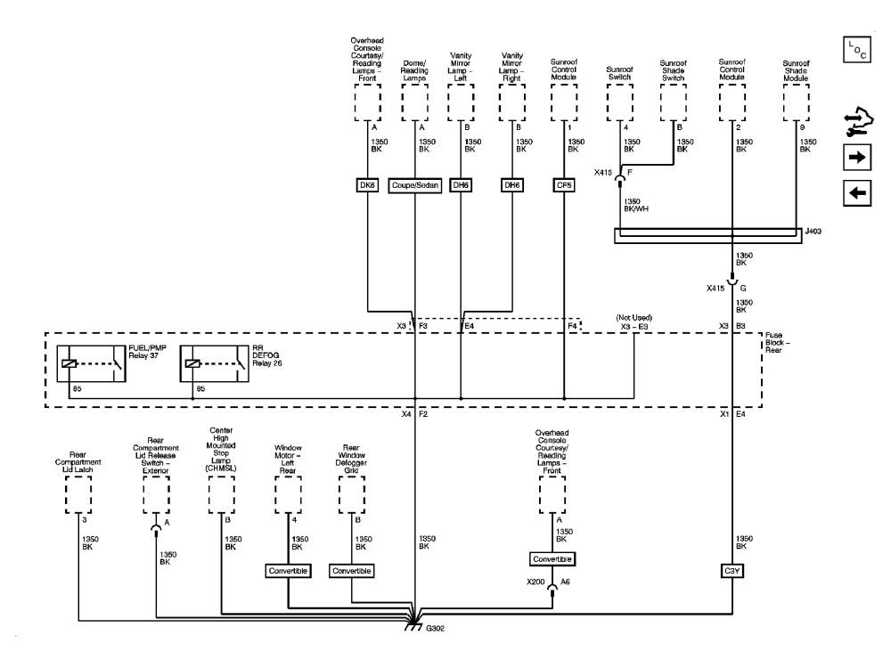 medium resolution of pontiac g6 fuse box center high mounted stop lamp ponti