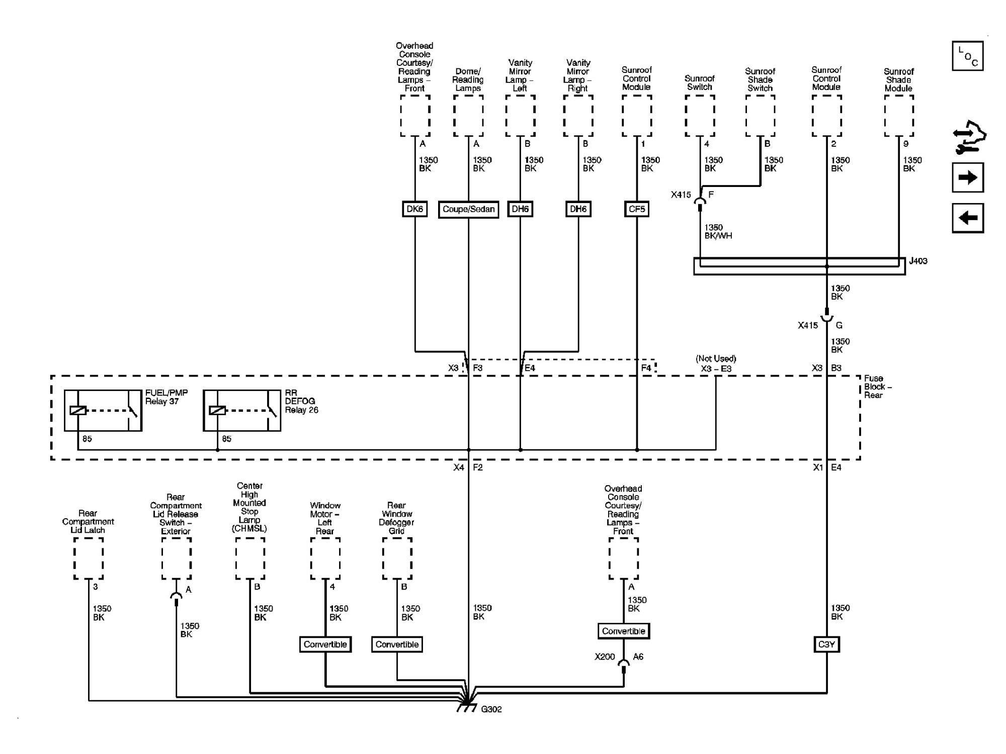 hight resolution of pontiac g6 fuse box center high mounted stop lamp ponti