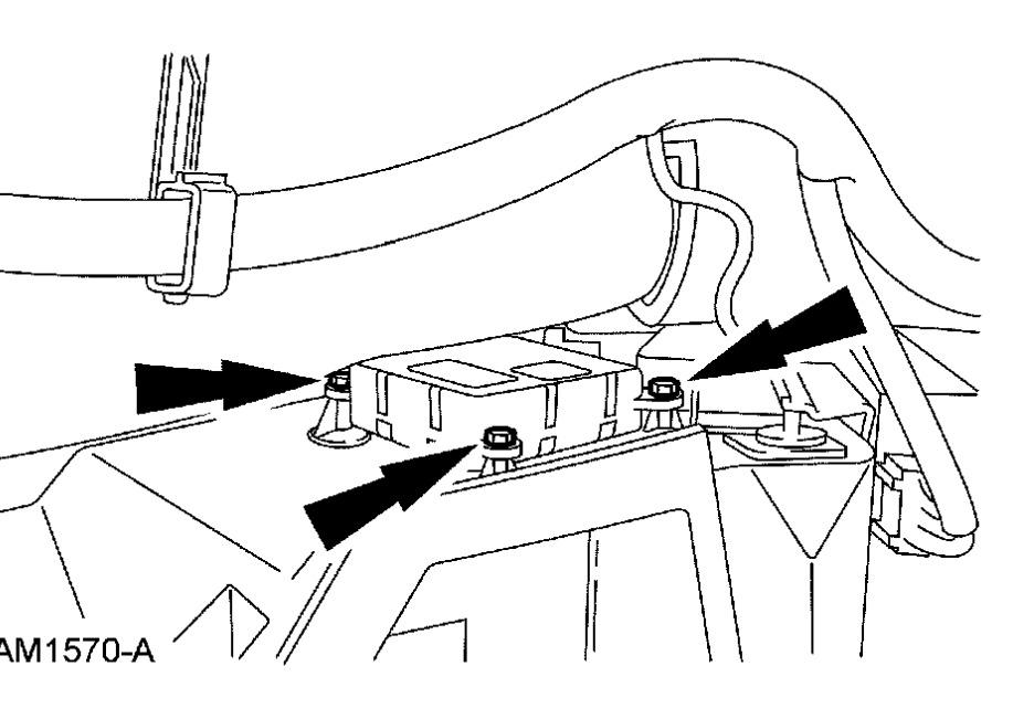 2006 Ford Crown Victoria Heater Control Module Location