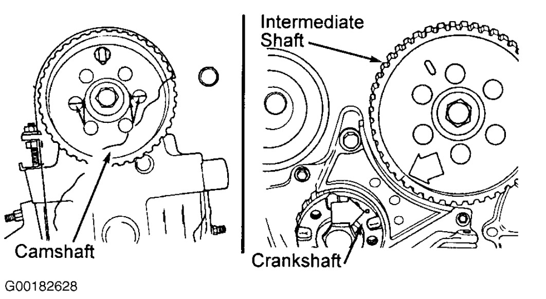 Service manual [1993 Plymouth Acclaim Crankshaft Timing