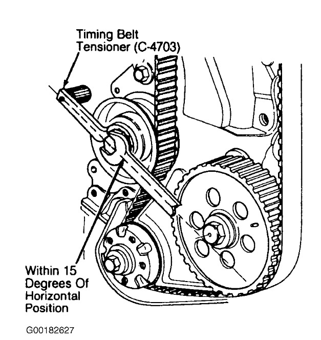Service manual [1993 Plymouth Acclaim Crankshaft Timing