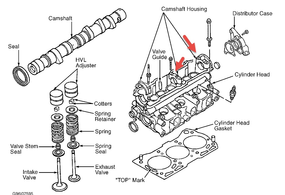 How to Remove Siezed Camshaft 96 Geo Metro 1.3L and What