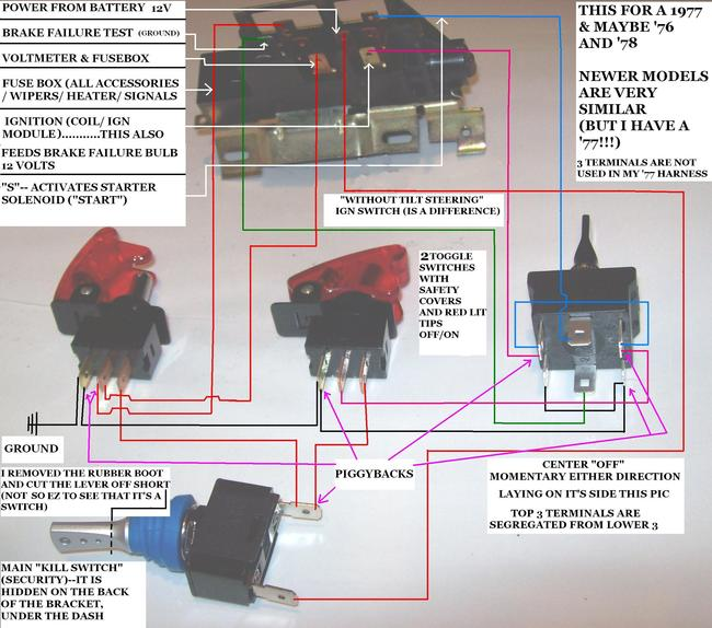 1978 jeep cj5 wiring diagram 8 pin usb 1976 76 cj 5 starting: just purchased a old mail ...