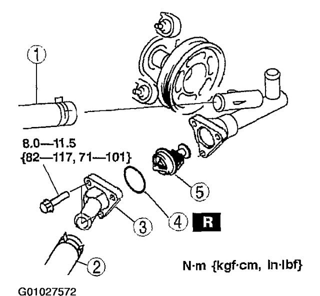 2004 Mazda 6 Idler Pulley and Thermostat: My Car Started