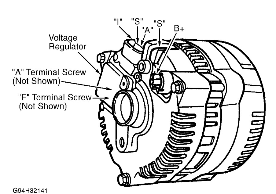1996 Lincoln Continental Replaceing Alternator: Do You