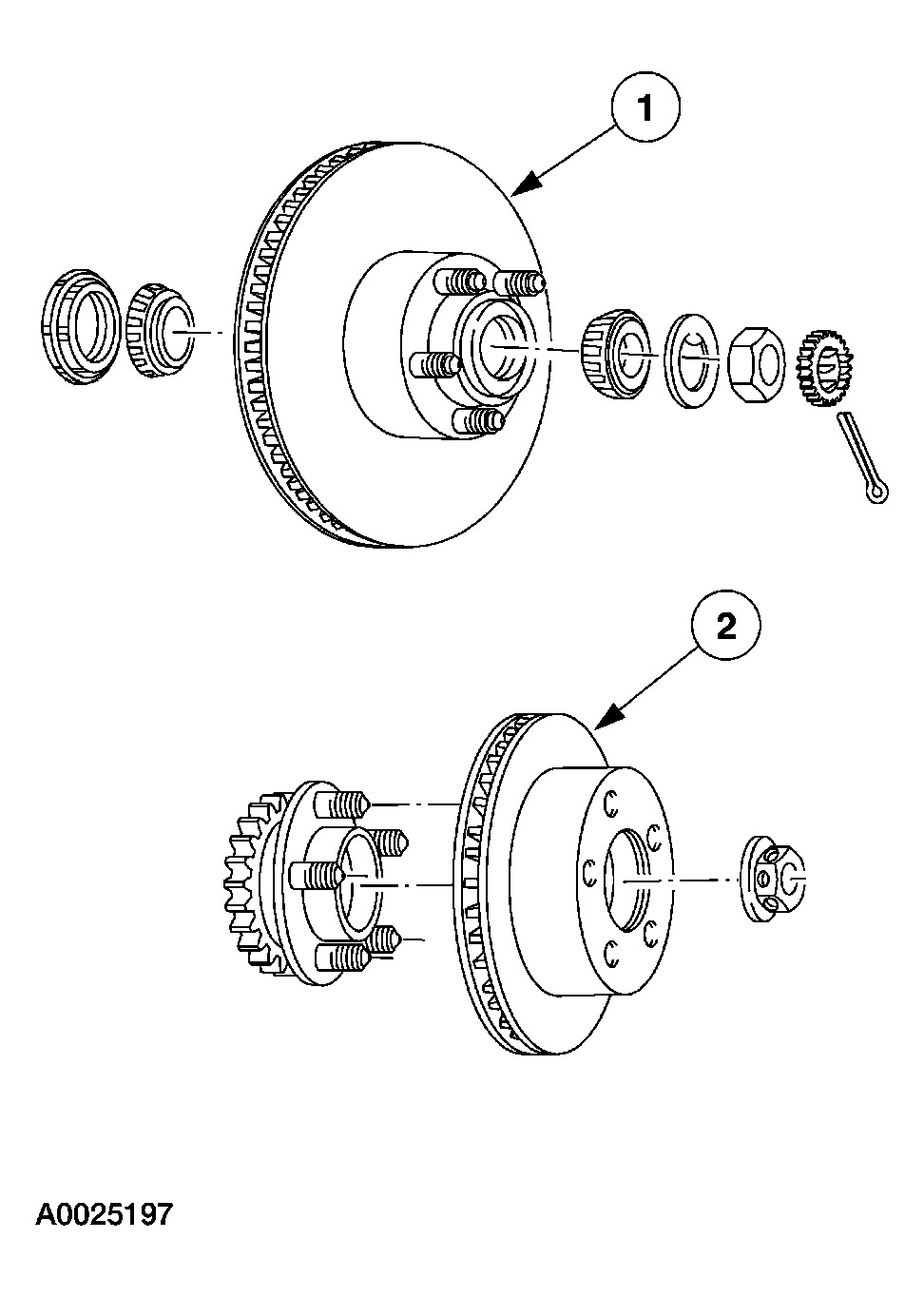 Front Spindle Nut: When Tightening Spindle Nut to 295 Ft