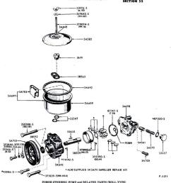 1964 ford thunderbird power steering resevor need exploded parts 1964 ford falcon power steering hose 1964 ford power steering diagram [ 985 x 1122 Pixel ]