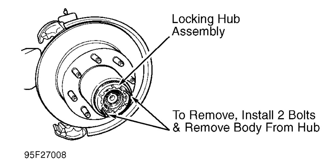 1995 Ford F-350 FRONT WHEEL BEARING ASSEMBLY: NEED DRAWING