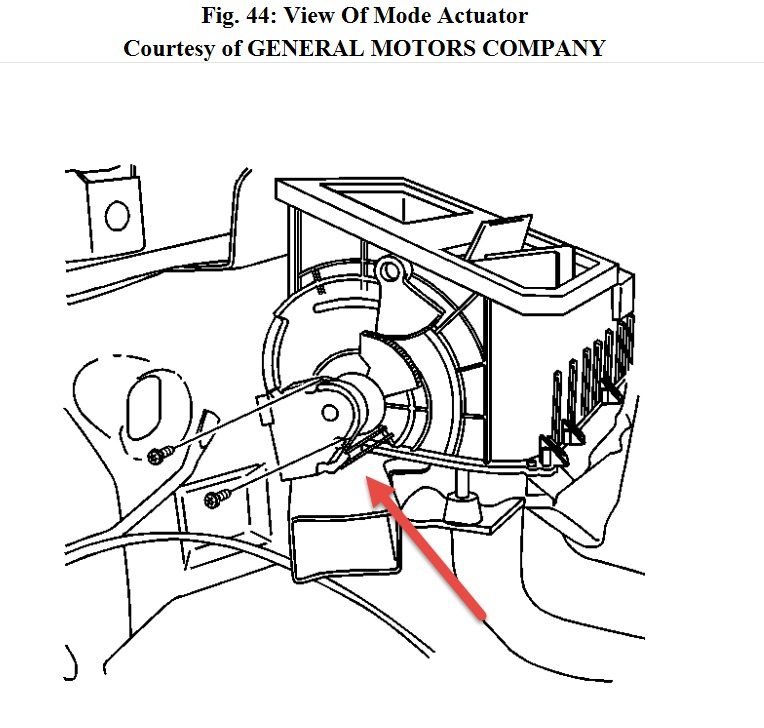 Service manual [2012 Chevrolet Suburban 2500 Mode Actuator