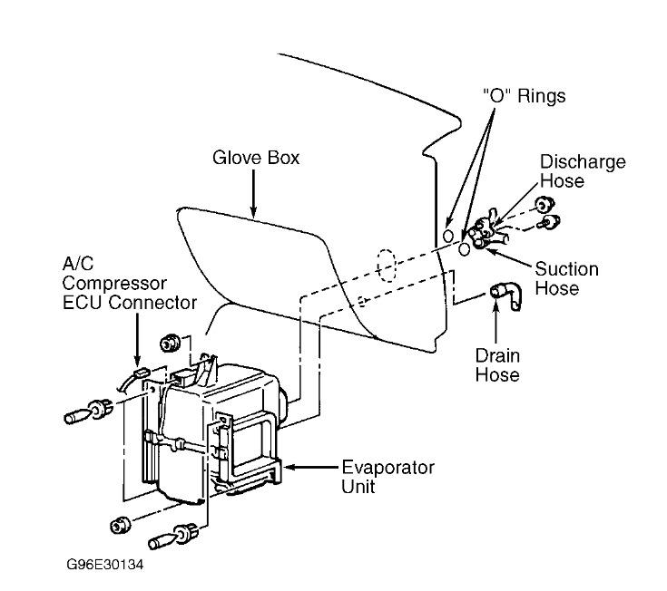 2001 Mitsubishi Mirage Evaporator Replacement Mirage: I Am