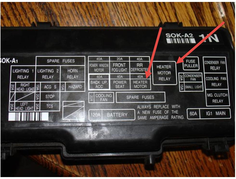 2004 mazda tribute fuse diagram single phase motor wiring with capacitor start 2003 acura tl air condtioner and fan: my 3.2l a/c does ...