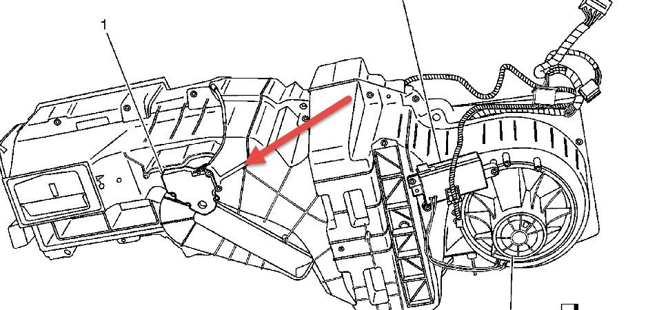 Service manual [2006 Mercury Montego Blend Door Actuator
