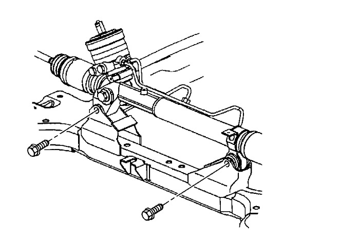 Service manual [2006 Buick Lucerne Power Steering Rack