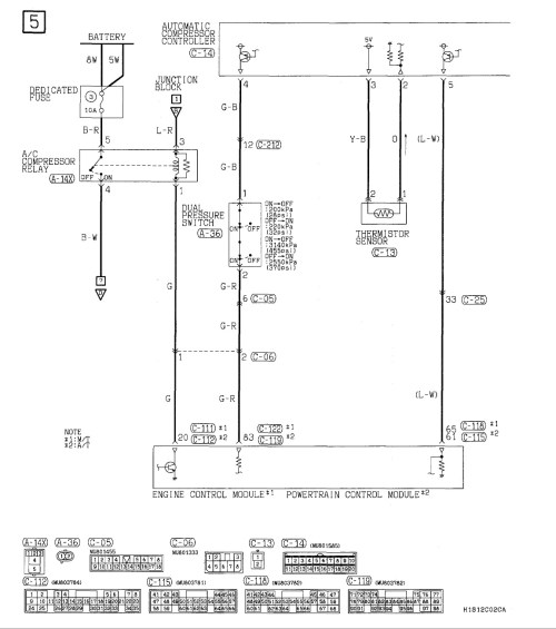 small resolution of 2001 mitsubishi eclipse a c issues the car is titled as a 2001 mitsubishi eclipse wiring diagram mitsubishi eclipse ac diagram