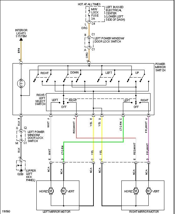 2002 mitsubishi galant engine diagram vga to rca 1999 gmc sierra power window switch wiring
