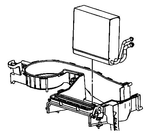 2006 Pontiac G6 AC Evaporator: What Is the Procedure to