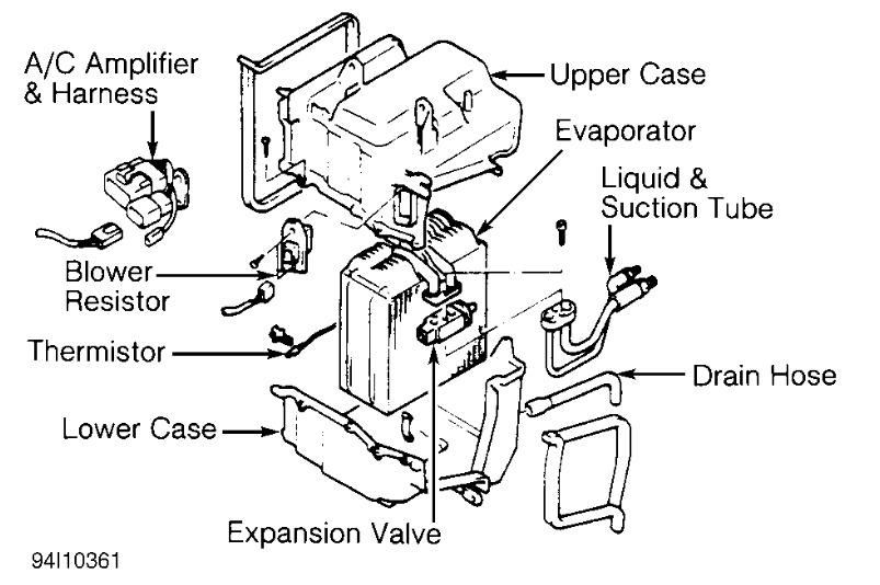 1991 toyota camry wiring diagram original