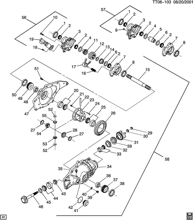2004 Chevrolet Trailblazer Replacing ADJUSTER: Good