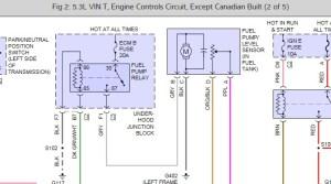 2000 Chevrolet Silverado Complete Fuel Pump Diagram: I Can't Find