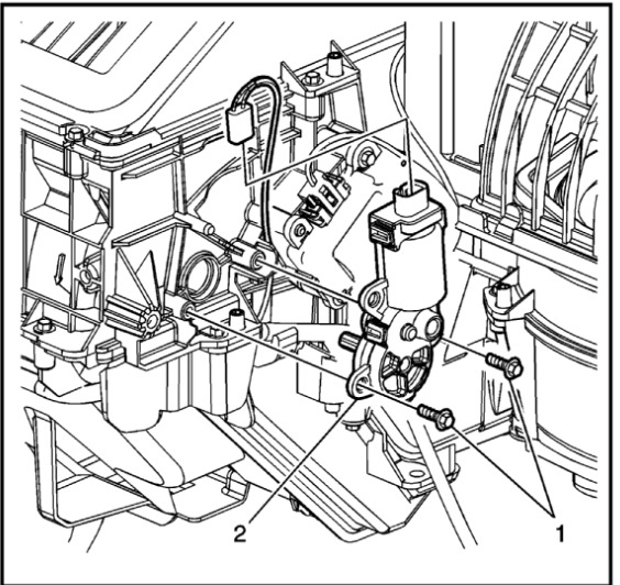 2006 Chevrolet Impala Air Control Recirculation Issues