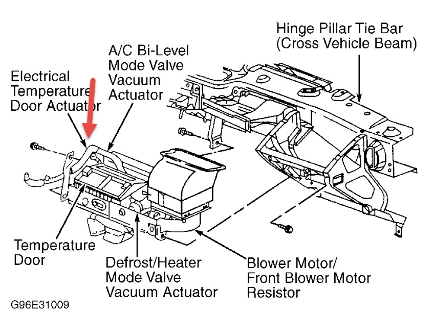 2000 Pontiac Montana Heating Questions: I See Lots of