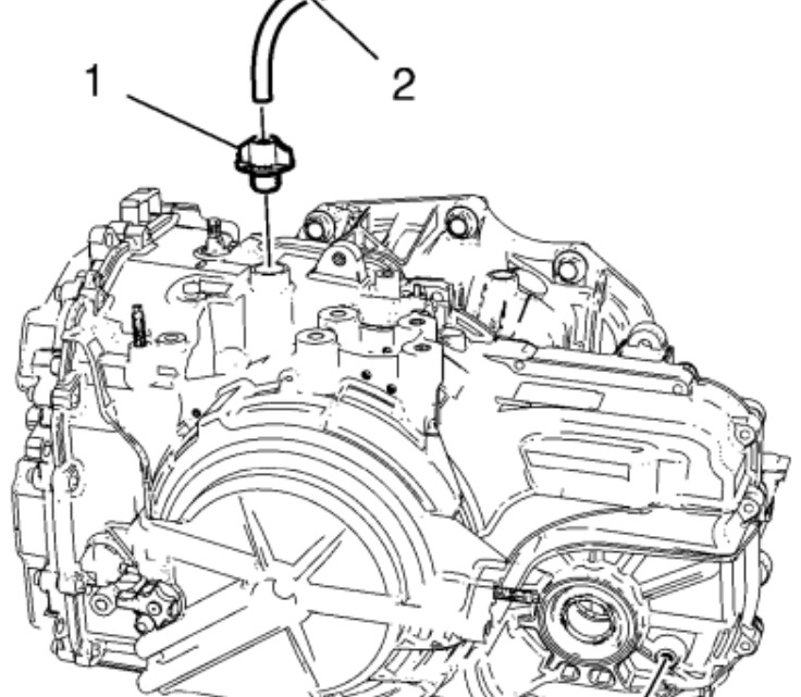 Transmission Service: No Dip Stick, Fill Cap on Top and