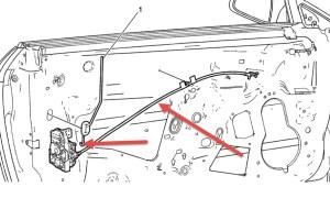 2009 Chevrolet Malibu Power Door Locks: 4 Door Front Passenger