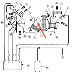 Ford Taurus Cooling System Diagram Club Car Gas Wiring 2000 Diagrams Thumbs No Heat From Heater Problem 6 Cyl Front Wheel Drive 2003