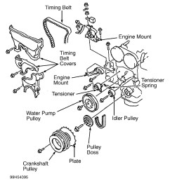 2000 mazda mpv engine coolant diagram [ 1079 x 1267 Pixel ]