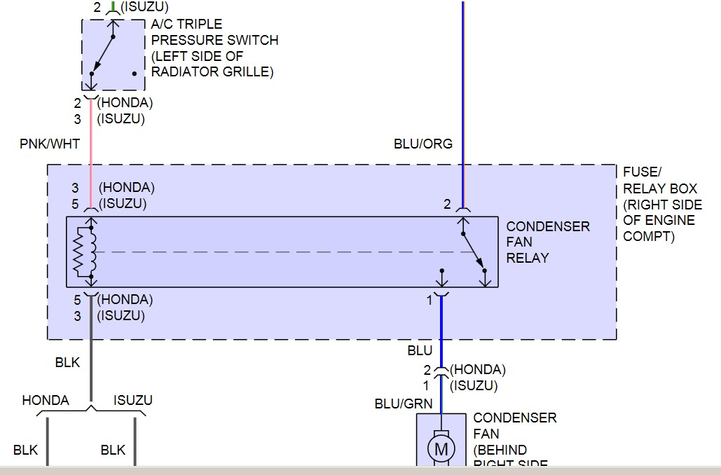 isuzu trooper wiring diagram kenwood kdc 108 car stereo 2001 npr air conditioning: i have no power going to ...
