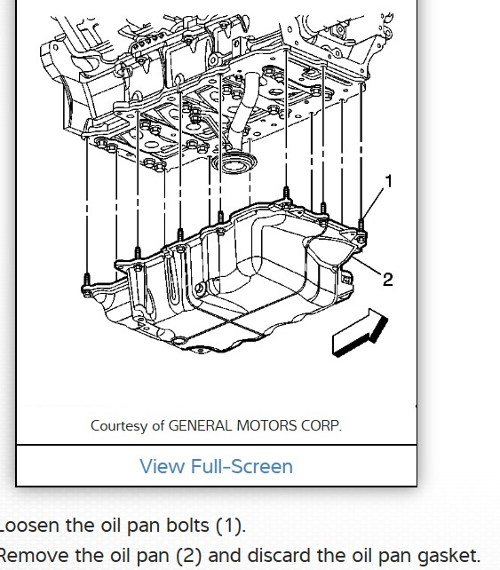 2006 Buick Lucerne Oil Pan Needs to Be Replaced