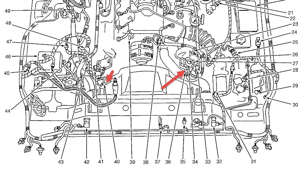 1997 Lincoln Town Car Engine Diagram 1997 Lincoln Town Car