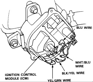 Distributor Wiring Diagram: the Engine Shut Off While