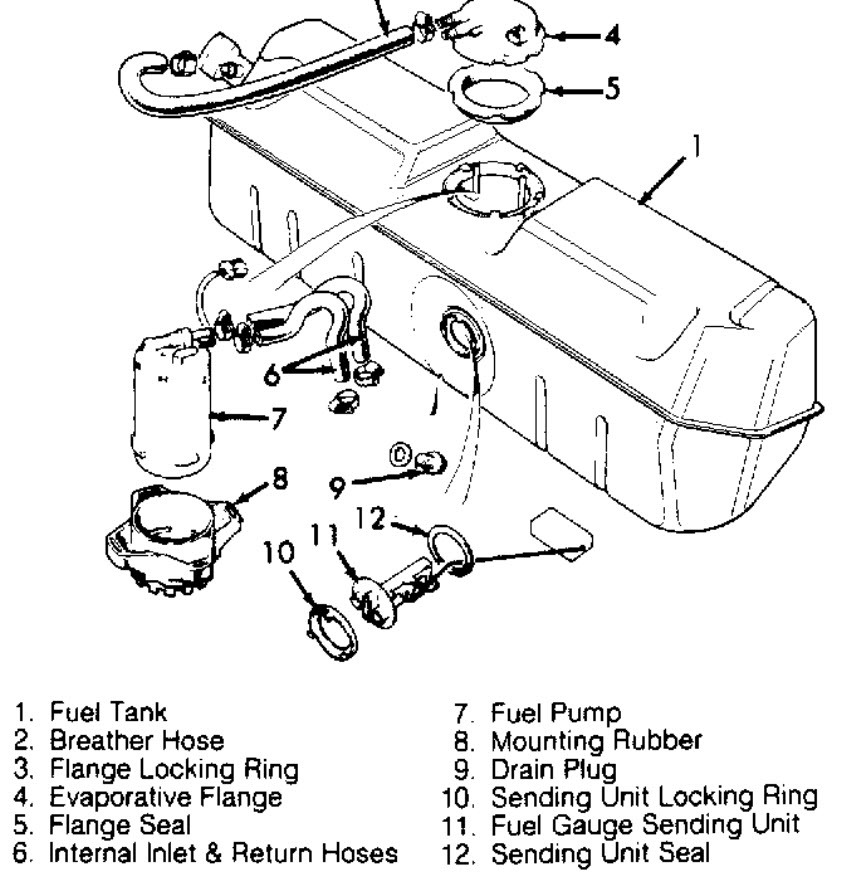 2002 Jaguar Xj8 Fuel Tank Diagram. Jaguar. Auto Parts