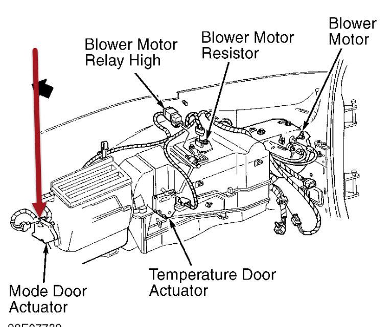 1999 GMC Yukon A/C & Heater: Hello, I Have a 1999 GMC