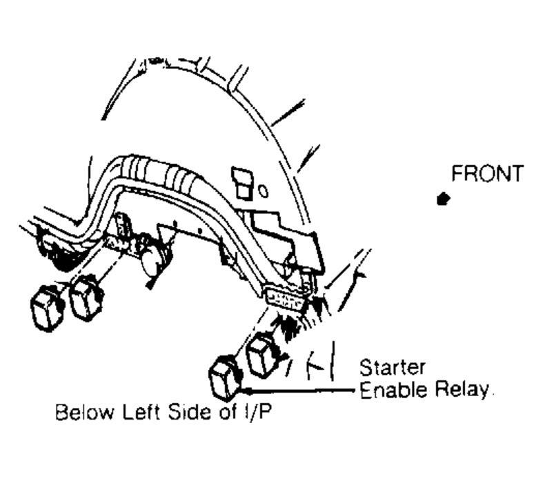 1992 Chevrolet Corvette No Power to Fuel Pump