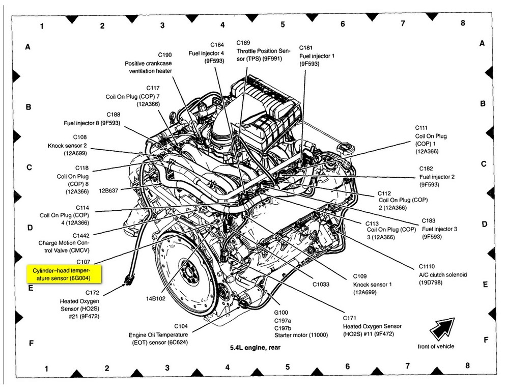 Engine Diagram For A 1999 Ford F 150 4 6 Tritan Wiring